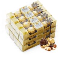 Ferrero 费列罗 榛果威化巧克力5粒装 12盒组合