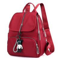 防水尼龙女包双肩包尼龙背包学生书包尼龙休闲时尚女包背包