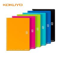 日本国誉 KOKUYO  软线圈点线笔记本A5/B5 (多色可选)蓝/浅蓝/浅绿/粉红/橙/黑