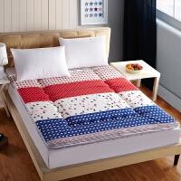 艾桐家居磨毛印花床垫 单人学生宿舍床垫 榻榻米垫子