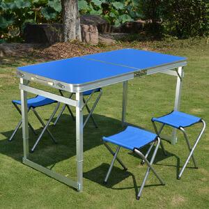御目 餐桌 可折叠桌餐桌户外便携式简易吃饭桌家庭用阳台餐桌手提野餐餐桌桌子 创意家具