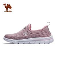 骆驼运动减震女士鞋 2018年春女款透气时尚舒适跑步鞋运动休闲鞋