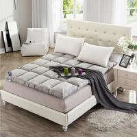 御目 床垫  加厚10cm羽丝绒床垫学生宿舍单人双人可折叠榻榻米床褥