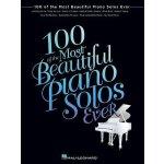 英文原版 100钢琴独奏曲 乐谱 100 of the Most Beautiful Piano Solos Ever