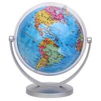 学生万向旋转地球仪 23.5度倾斜角 地理/地形/地貌认识用具 迷你地球仪 仿古家具桌面摆设 一个装