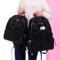 双肩包女男潮帆布包背包学院风学生书包旅行包大包包