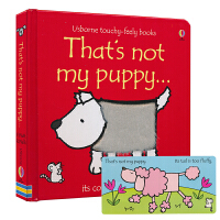 【首页抢券300-100】Usborne That's Not My Puppy 那不是我的小狗 0-3岁幼儿触觉发展