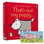 Usborne That's Not My Puppy 那不是我的小狗 0-3岁幼儿触觉发展 英语绘本 启蒙触摸书 儿
