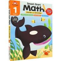 Evan-Moor Smart Start Math 美国教辅聪慧启蒙系列数学 一年级 故事+活动 赠音频 儿童英语练习