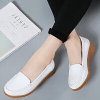 春镂空护士鞋坡跟洞洞鞋休闲妈妈鞋大码女鞋防滑孕妇单鞋