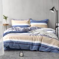加厚加密棉纯棉被套床单被罩床笠三4四件套床上用品北欧风 【床单款】1.8床四件套(2.5床单 200被套