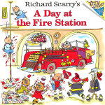 Richard Scarry's A Day at the Fire Station 斯凯瑞童书: 消防站的一天 ISBN 9780307105455