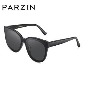 帕森时尚太阳镜女 炫彩膜黑框风尚潮人墨镜 开车大框驾驶镜 9762