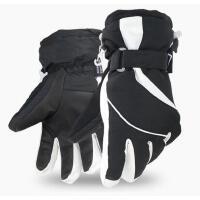 韩版可爱防风防水骑行手套 新款男女士保暖加厚骑车防寒户外滑雪手套