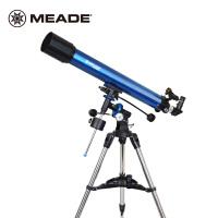 买一送三 米德天文望远镜90EQ 90/900入门天文望远镜带赤道仪推荐观看行星观景两用