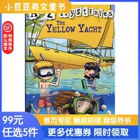 进口英文原版The Yellow Yacht A to Z 神秘案件 #25 黄色快艇【6-12岁】