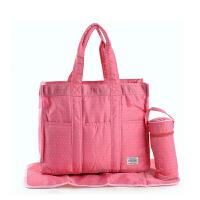 妈咪包购物袋尼龙防水手提包简约单肩斜挎包男女