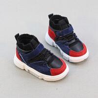 宝宝鞋子男女小童运动鞋婴儿软底学步棉鞋