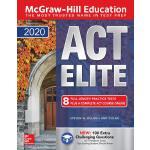 英文原版 ACT复习指南+习题 McGraw-Hill Education ACT Elite 2020