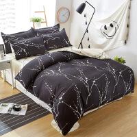 芦荟棉床上用品四件套仿棉床上用学生宿舍三件套 2.