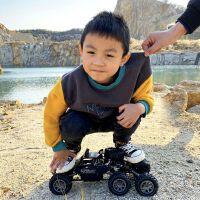儿童遥控汽车合金四驱攀爬车男孩充电动高速漂移越野车玩具