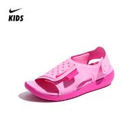 【到手价:229元】耐克nike童鞋2019夏季新款儿童露趾时尚舒适凉鞋(5-12岁可选)AJ9076 601 AJ9