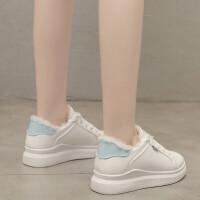 夏季新品加绒加厚保暖女棉鞋子小白鞋休闲鞋女学生韩版潮流板鞋女网红街拍女平底运动鞋