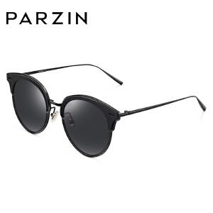 帕森时尚太阳镜男女潮流猫眼框个性彩膜墨镜司机开车眼镜9763
