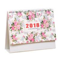 台历2017-2018年月历创意记事本小清新办公桌面摆件日历