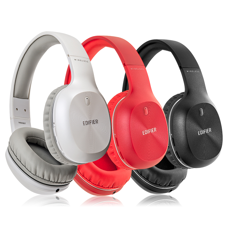 Edifier/漫步者 W800BT 头戴耳机式无线蓝牙重低音耳机运动通话  立体声音乐耳机大众选择 立体声耳机