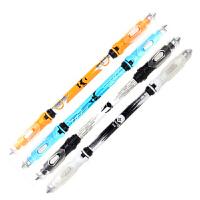 智高转转笔发光转笔V19新品zg-5180发光转转笔双笔杆转笔