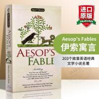 伊索寓言英文版原版Aesop's Fables 203个故事英语经典文学小说名著正版进口书籍 可搭毛姆短篇故事集王尔德