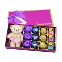漂流瓶娃娃礼盒 圣诞节送女友闺蜜水果糖漂流瓶星星糖果娃娃礼盒生日送朋友情人节巧克力礼盒