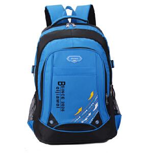 春夏新款登山包户外防水尼龙运动背包学生书包男双肩包