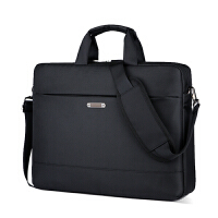 笔记本电脑包手提商务男华硕惠普戴尔联想14寸15.6寸17.3寸 黑色