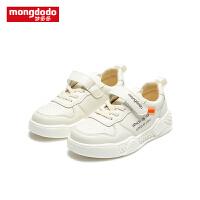 【1件3折折后价89.7】mongdodo梦多多童鞋儿童运动鞋男童女童板鞋2019新款时尚跑步鞋子