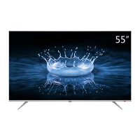 TCL 55A860U 55英寸32核人工智能 超智慧 超薄4K 超高清电视机(银色)