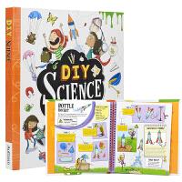 【首页抢券300-100】DIY Science 30个有趣的科学实验 在家操作 简单易行 手工DIY STEM科普书