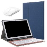华为平板M3青春版10.1英寸蓝牙键盘保护套带笔槽BTV/CPN/BAH-W09/AL00电脑皮套软 M3 [青春版1