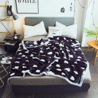 毛毯加厚冬单人学生宿舍薄款双人毛毯被子