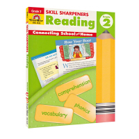 Evan-Moor Skill Sharpeners Reading Grade 2 小学二年级阅读练习册 美国加州教辅