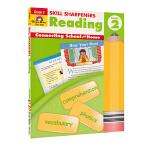 Evan-Moor Skill Sharpeners Reading Grade 2 小学二年级阅读练习册 美国加州教