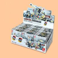 29020杰星军事部队拼装拼插组装积木玩具可变形合体
