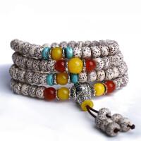 菩提手串正月 菩提子108颗藏式佛珠念珠项链