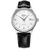 瑞士迪沃斯DAVOSA-Gentleman 绅士系列 Flatline智雅 16248365 石英男士手表【好礼万表 礼品卡可购】