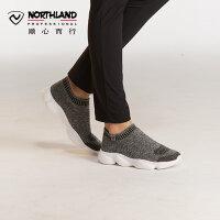 【顺心而行】诺诗兰新款户外男女士潮流耐磨透气舒适休闲鞋FT072531