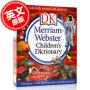 预售 韦氏儿童字典 2019年新版词典 DK出版 精装 大开本 英文原版 Merriam-Webster Children's Dictionary 含3000幅图片与注释