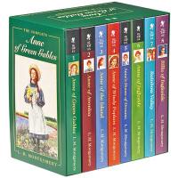 Anne of Green Gables Complete 8册 绿山墙的安妮 英文原版小说 儿童青少年经典文学读物 中