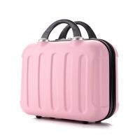 2018092216209化妆箱手提大容量方形大号新款女化妆品收纳箱手提箱旅行随身多层