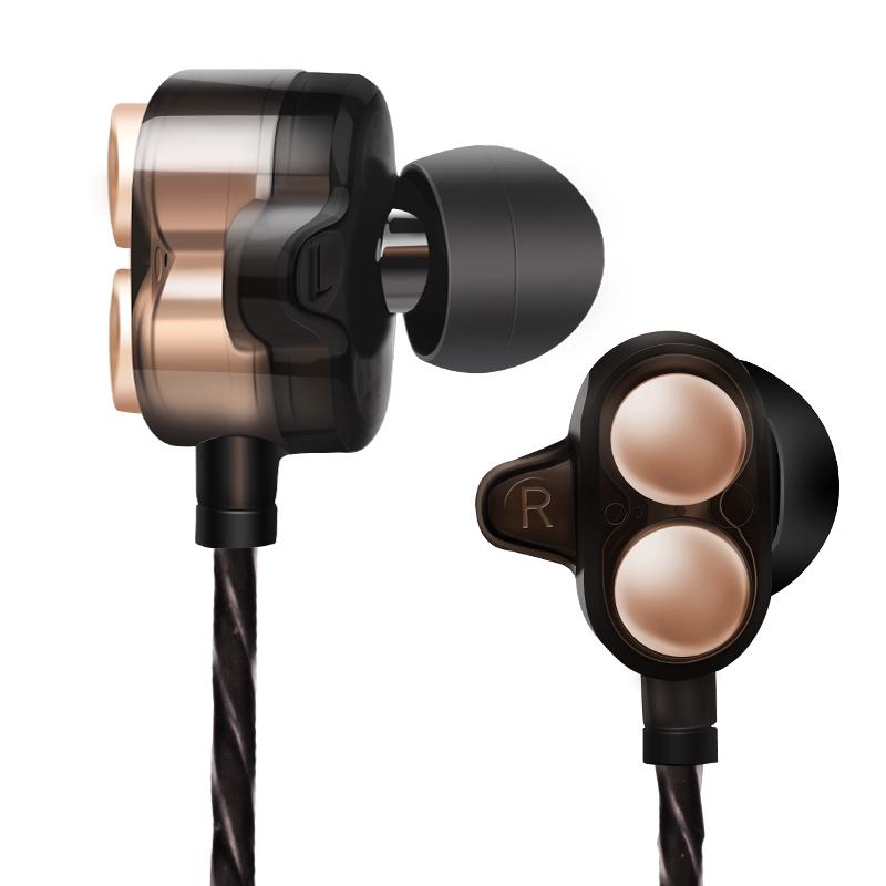 入耳式立体声耳机 音质清晰 深度重低音 兼容安卓苹果 佩戴舒适  震撼音质